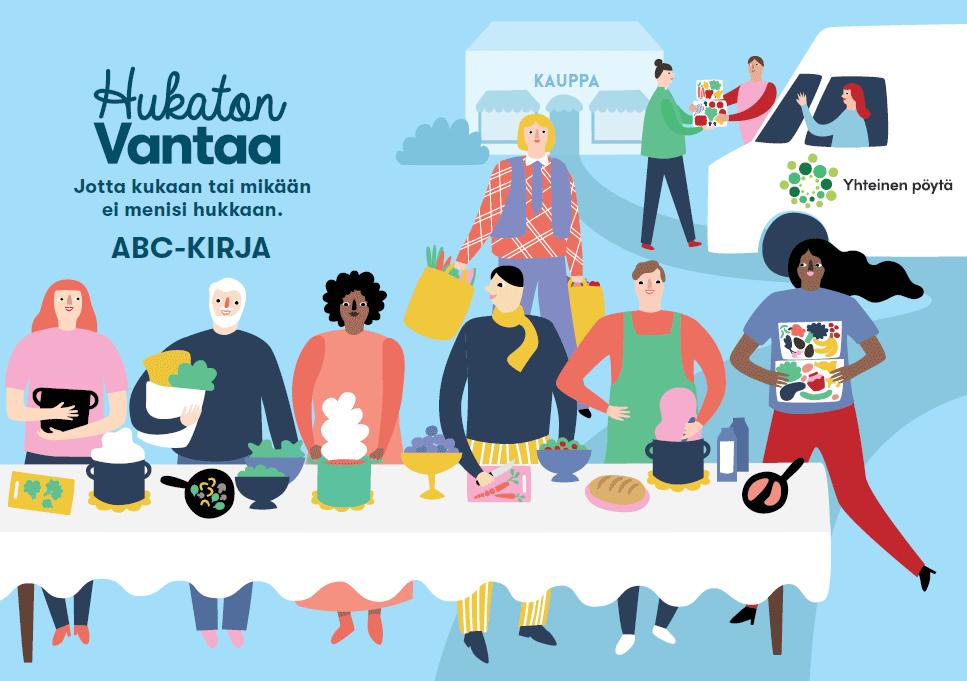 Hukaton Vantaa ABC-kirja