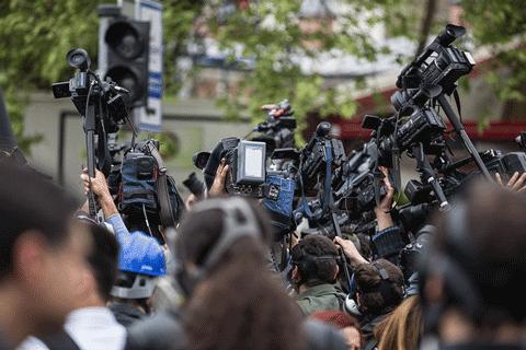 Kriisiviestintä press