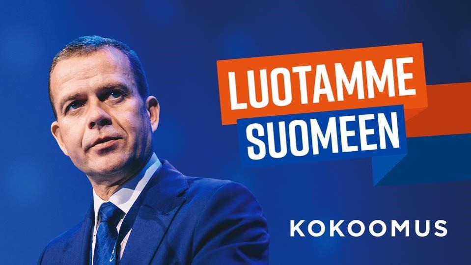 Kokoomus kampanja 2019