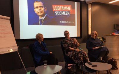 Puolueiden viestintäpomot avasivat kevään vaalien kampanjataustoja